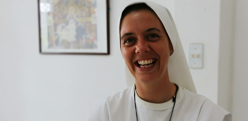 Sr. Clare Laughing
