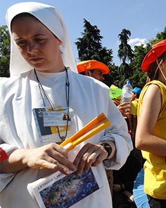 Sr. Clare at World Youth Day