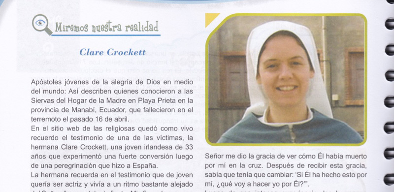 Ecuador's New Catechism Book