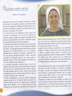 Sr. Clare in the Catechism Book