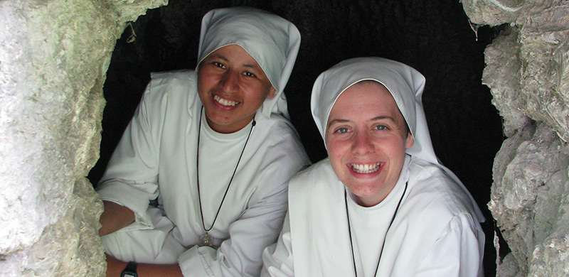 Sr. Martha and Sr. Clare
