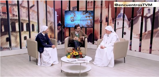 Sr. Clare on Channel Ocho Mediterráneo